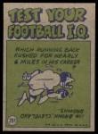 1972 Topps #251   -  Johnny Unitas Pro Action Back Thumbnail