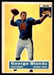 1956 Topps #11  George Blanda  Front Thumbnail