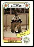 1976 O-Pee-Chee WHA #67   -  Chris Abrahamsson All-Star Front Thumbnail