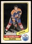 1976 O-Pee-Chee WHA #97  Al Hamilton  Front Thumbnail