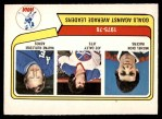 1976 O-Pee-Chee WHA #6   -  Michel Dion / Joe Daley / Wayne Rutledge Goals Against Avg. Leaders Front Thumbnail