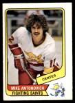 1976 O-Pee-Chee WHA #23  Mike Antonovich  Front Thumbnail
