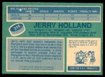 1976 O-Pee-Chee NHL #315  Jerry Holland  Back Thumbnail