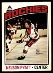 1976 O-Pee-Chee NHL #98  Nelson Pyatt  Front Thumbnail