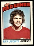 1976 O-Pee-Chee NHL #48  Rick Lapointe  Front Thumbnail