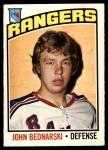 1976 O-Pee-Chee NHL #231  John Bednarski  Front Thumbnail