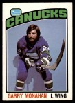 1976 O-Pee-Chee NHL #295  Garry Monahan  Front Thumbnail