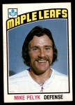 1976 O-Pee-Chee NHL #342  Mike Pelyk  Front Thumbnail