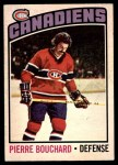 1976 O-Pee-Chee NHL #177  Pierre Bouchard  Front Thumbnail