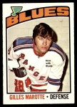 1976 O-Pee-Chee NHL #192  Gilles Marotte  Front Thumbnail
