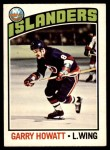 1976 O-Pee-Chee NHL #206  Garry Howatt  Front Thumbnail
