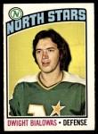 1976 O-Pee-Chee NHL #198  Dwight Bialowas  Front Thumbnail