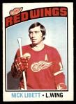 1976 O-Pee-Chee NHL #171  Nick Libett  Front Thumbnail