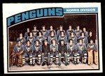 1976 O-Pee-Chee NHL #145   Penguins Team Front Thumbnail