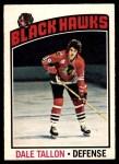 1976 O-Pee-Chee NHL #89  Dale Tallon  Front Thumbnail