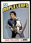 1976 O-Pee-Chee NHL #373  Dave Williams  Front Thumbnail
