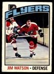 1976 O-Pee-Chee NHL #247  Joe Watson  Front Thumbnail