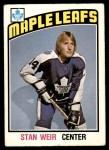 1976 O-Pee-Chee NHL #270  Stan Weir  Front Thumbnail