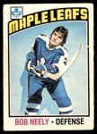 1976 O-Pee-Chee NHL #194  Bob Neely  Front Thumbnail