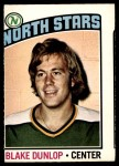 1976 O-Pee-Chee NHL #263  Blake Dunlop  Front Thumbnail