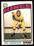 1976 O-Pee-Chee NHL #284  Neil Komadoski  Front Thumbnail