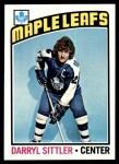 1976 Topps #207  Darryl Sittler  Front Thumbnail