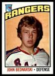 1976 Topps #231  John Bednarski  Front Thumbnail