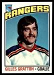 1976 Topps #28  Gilles Gratton  Front Thumbnail