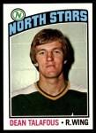 1976 Topps #103  Dean Talafous  Front Thumbnail