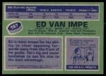 1976 Topps #157  Ed Van Impe  Back Thumbnail