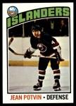 1976 Topps #93  Jean Potvin  Front Thumbnail