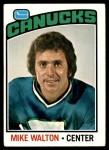 1976 Topps #23  Mike Walton  Front Thumbnail
