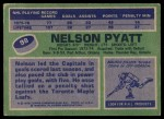 1976 Topps #98  Nelson Pyatt  Back Thumbnail