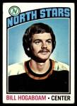 1976 Topps #73  Bill Hogaboam  Front Thumbnail