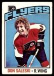 1976 Topps #81  Don Saleski  Front Thumbnail