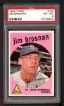 1959 Topps #194  Jim Brosnan  Front Thumbnail