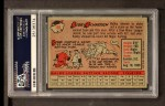 1958 Topps #101 YN Bobby Richardson  Back Thumbnail