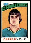 1976 Topps #197  Curt Ridley  Front Thumbnail