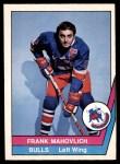 1977 O-Pee-Chee WHA #61  Frank Mahovlich  Front Thumbnail