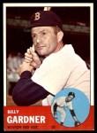 1963 Topps #408  Billy Gardner  Front Thumbnail