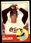 1963 Topps #297  Jim Golden  Front Thumbnail