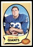 1970 Topps #227  Ernie Koy  Front Thumbnail