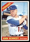 1966 Topps #407  John Kennedy  Front Thumbnail