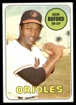1969 Topps #478  Don Buford  Front Thumbnail