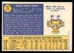 1970 Topps #232  Bob Didier  Back Thumbnail