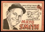 1969 Topps #40  Mayo Smith  Back Thumbnail