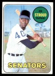 1969 Topps #272  Ed Stroud  Front Thumbnail