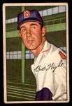 1952 Bowman #117  Bill Wight  Front Thumbnail