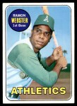 1969 Topps #618  Ramon Webster  Front Thumbnail