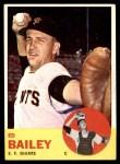 1963 Topps #368  Ed Bailey  Front Thumbnail